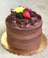 Chocolate Bliss Naked Cake