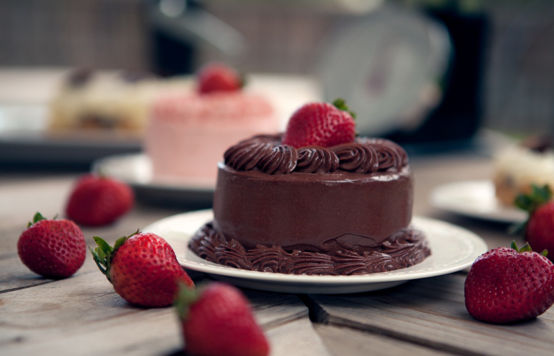 Vegan Chocolate Mousse Cake