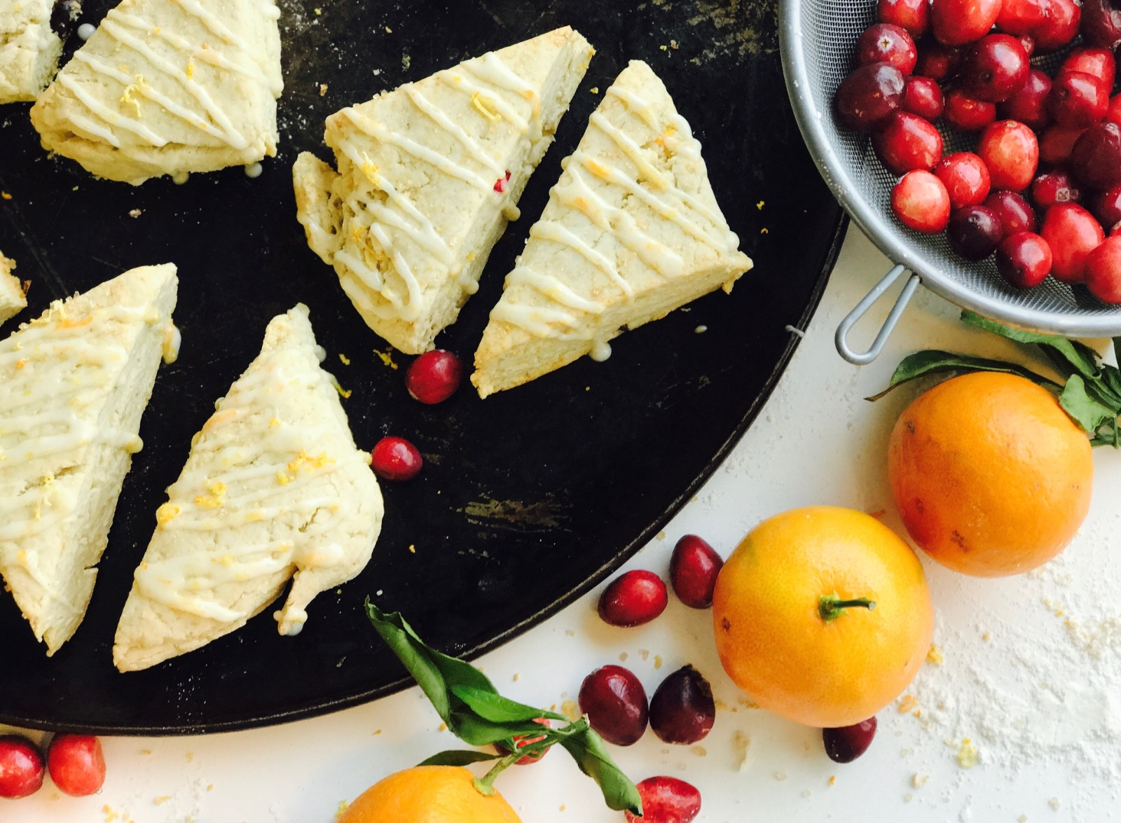 Cranberry Almond Scones
